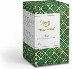 Yalda Herbs Kruidenthee - Elixir Detoxing thee - Witte thee- 18 Pyramid theezakjes- thee