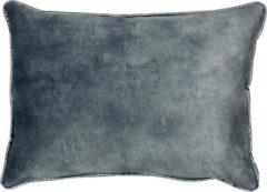 Blauwe Raaf sierkussens Raaf sierkussenhoes Dion (50x70 cm)