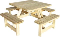 Westwood | Picknicktafel Deluxe Vierkant