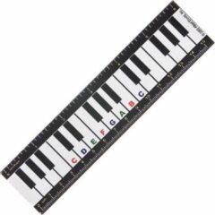 AIM Vinyl magnetische liniaal pianotoetsen