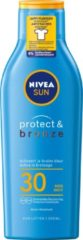 Nivea Sun Zonnebrand Protect And Bronze Factorspf30