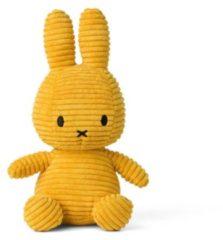 Gele Nijntje Miffy Sitting Corduroy Yellow knuffel 50 cm