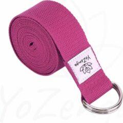 Roze YoZenga yogariem | yogastrap | Pink
