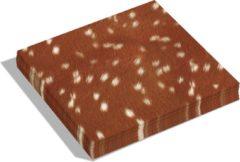 Bruine Dutch Design Brand - Dutch Design Napkins - servetten - Hert - Deer