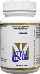 Vital Cell Life Lithium 400 mcg 100 Capsules