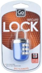 Secure Lock Kofferschloss 6 cm GoTravel blau