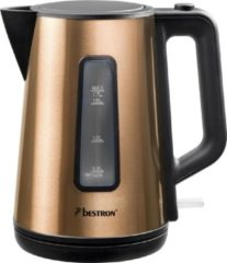 Bruine Bestron Waterkoker Snoerloos Copper Collection Awk1000co 1,7 L