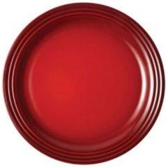 LE CREUSET - Aardewerk - Ontbijtbord 22cm Rood