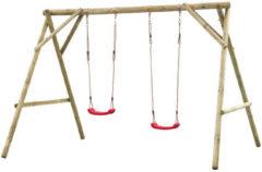 Bruine SwingKing Swing King schommel Eline dubbel - 300cm