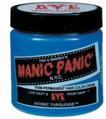 Blauwe Manic Panic Amplified Atomic Turquoise - Haarverf