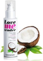 Love to Love Love me tender verwarmende Massageolie - Coconut