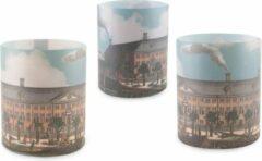 Bruine Lanzfeld (museumwebshop.com) Windlichtjes, Hermitage, set van 3