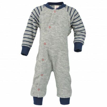 Afbeelding van Engel - Baby-Schlafanzug Einteilig - Overall maat 98/104, grijs