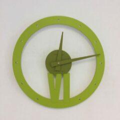 CD Italian Design Wandklok Olijf Groen