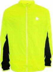 Donnay Hardloopjas - Running Jacket - Heren - Maat S - Fluo geel