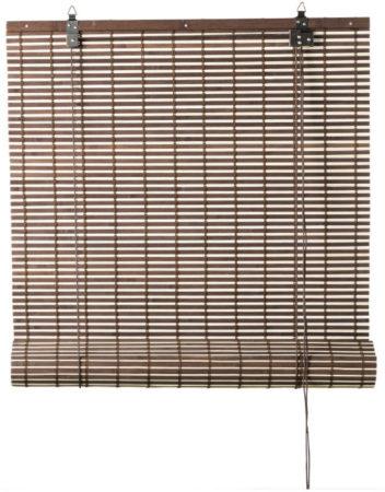 Afbeelding van Xenos Rolgordijn bamboe - bruin/naturel - 90x180 cm