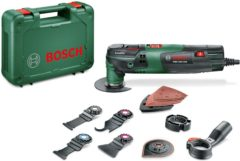 Bosch Home and Garden PMF 250 CES Set 0603102101 Multifunctioneel gereedschap Incl. accessoires, Incl. koffer 16-delig 250 W