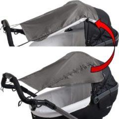 Altabebe Zonnescherm kinderwagen & buggy - Zonnedoek met zijbescherming - Grijs
