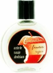 Tentaciones - erotische massageolie - rood fruit - 100 ml / sex / erotiek toys