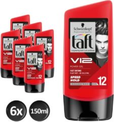 Schwarzkopf Taft Styling V12 Power Gel Shark tottle - 6x 150ml multiverpakking