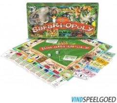 Late For The Sky Opoly safari opoly - 1 st