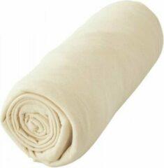 Creme witte Casa Collection Voordeelpack Jersey Hoeslaken Cream 1 + 1 GRATIS-190/200 x 200/220 cm