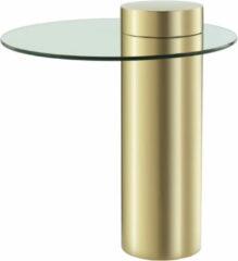 Kayoom Bijzettafel 'Ontario' 46cm, kleur goud
