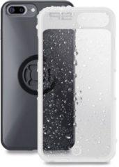 Transparante Sp Connect Sp Weather Cover Iphone 8+/7+/ 6S+/6+ Smartphonehoes Doorzichtig Zwart