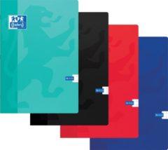 Oxford SCHOOL schrift geassorteerde kleuren formaat A4 72 bladzijden geruit 10 mm