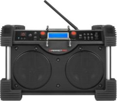 PerfectPro ROCKHART BT Baustellenradio mit DAB+, RDS, MP3, Bluetooth