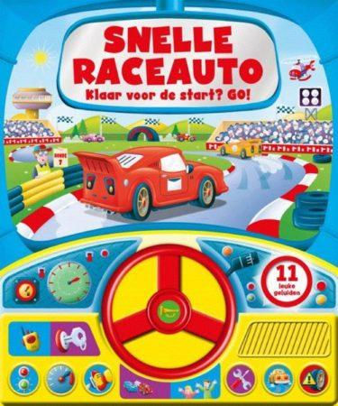Afbeelding van Rebo Productions Geluidenboek Snelle Raceauto