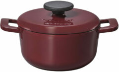 Brabantia The Dutch Oven 20 cm Aubergine Red