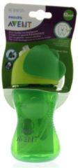 Avent Philips Rietjesbeker SCF796/01 300 ml 12m+ groen - Groen - Gr.260ml-350ml