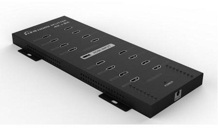 Afbeelding van 16-Poorts HDMI 1.4 Splitter met 3D en 4K - Techtube Pro