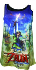 Difuzed Nintendo - Zelda all over print dames top multicolours - Games merchandise - L