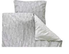 Witlof For Kids Tuck-Inn Beleaf Dekbedovertrek 120 x 150 cm Warm Grey