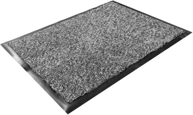 Afbeelding van Floortex deurmat Dust Control formaat 90 x 150 cm grijs