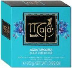 Maya Aqua turquesa toiletzeep