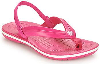 Afbeelding van Roze Teenslippers Crocs CROCBAND STRAP FLIP K