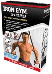 Zwarte Iron Gym Trainer Full Body workout Fitnessaccessoire
