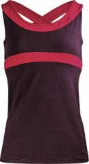 "Paarse Yoga-Top ""Shape me"" vest - aubergine M Loungewear shirt YOGISTAR"