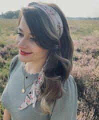 Huidskleurige Rosy Bandit Haarband - Rise and shine - Nude