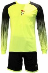 Gele Gladiator Sports Keepersset Black Yellow-XS