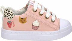 Shoesme roze sneaker met vrolijke print (SH21S002-B). Maat 25