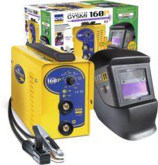 GYS Lasinverter GYSMI 160P + LCD Techno 11 030435 Diameter elektrode 1,6 - 4 mm