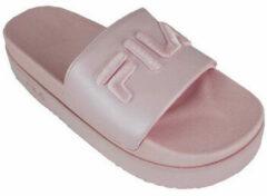 Roze Teenslippers Fila morro bay zeppa f wmn pink