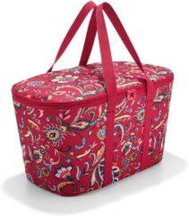 Reisenthel Coolerbag Koeltas - Polyester met aluminium voering - 20L - Paisley Ruby Rood; Mulri Kleur