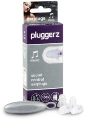 Transparante Pluggerz earplugs music