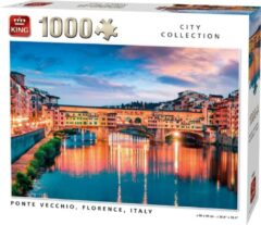 Witte King Legpuzzel Ponte Vecchio Florence 1000 stukjes