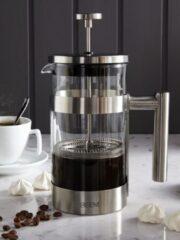 Zilveren BEEM Aroma-Switch Glass, Filterkoffiezetapparaat met timerfunctie en glazen koffiepot – koffieapparaat, filterkoffiemachine,